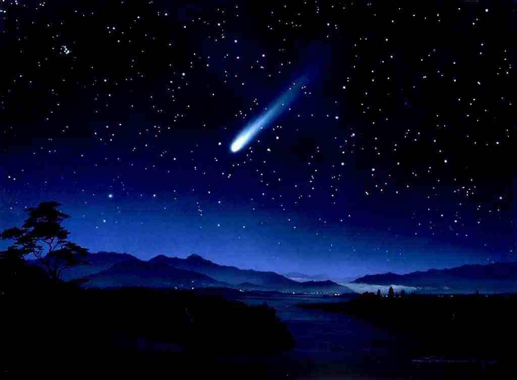 shooting stars – Kendall Lacey's Webworld