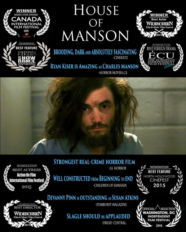Movie : House Of Manson (A K A  Manson) – Kendall Lacey's