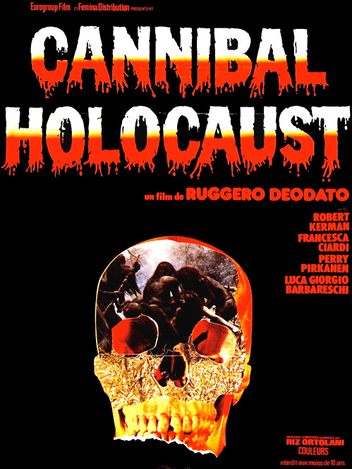 Cannibal HOlocaust poster 4